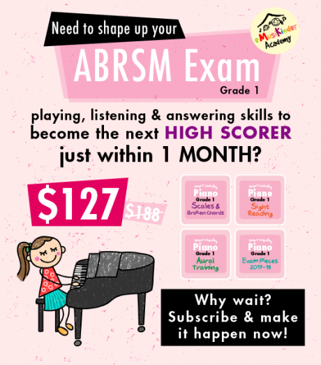 Want to become the next High Scorer for Grade 1 ABRSM Exam just with